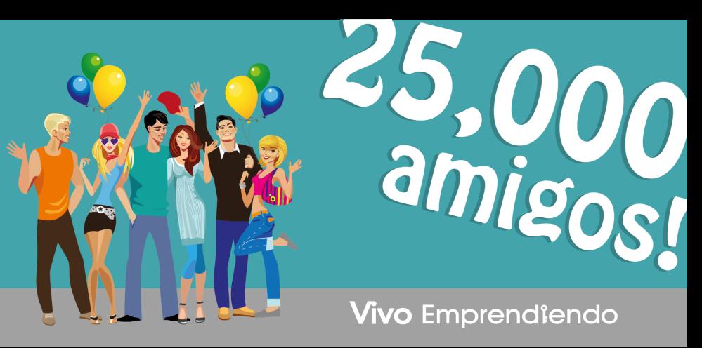 25,000 amigos blog