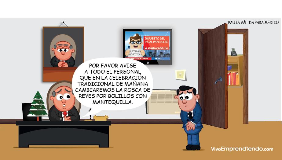 Humor empresarial: Rosca de Reyes