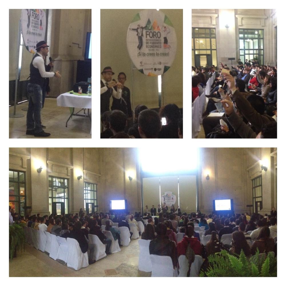 Conferencia Los 10 Mandamientos del Emprendedor, impartida por César Dabián